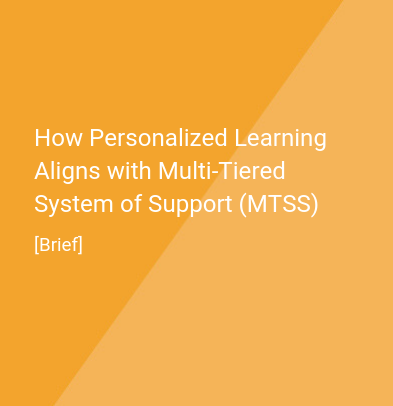 MTSS and Personalized Learning