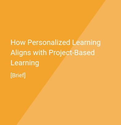 How does personalized learning align with project-based learning