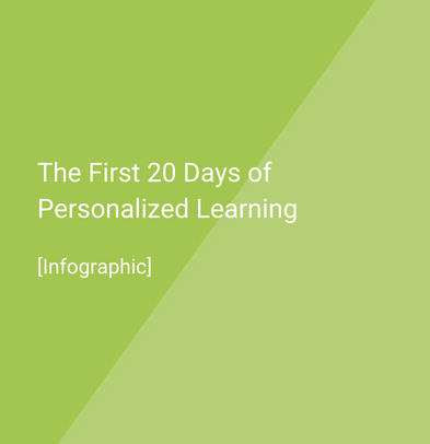 First days of personalized learning