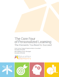Core four elements of personalized learning