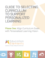 Curriculum Selection White Paper part 1