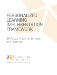 Personalized Learning Implementation Framework WP