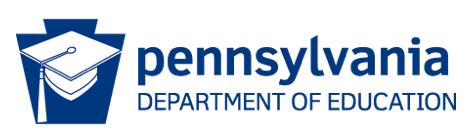 Pennsylvania dept of ed