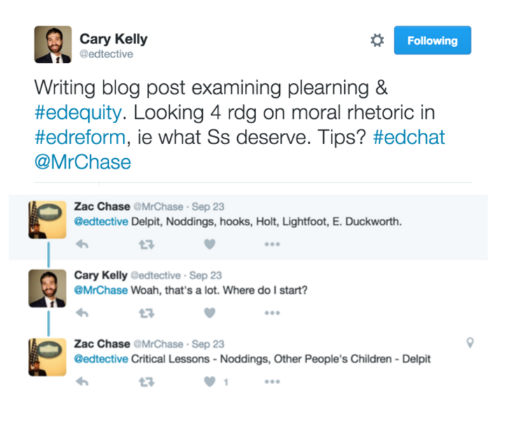 Cary Kelly Edtective tweets