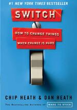 Switch by Chip Heath and Dan Heath - Book Cover