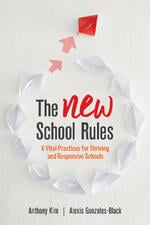 The NEW School Rules by Anthony Kim and Alexis Gonzales-Black - Book Cover