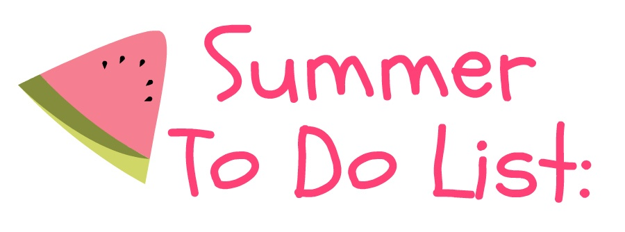 Summer to do list for teachers