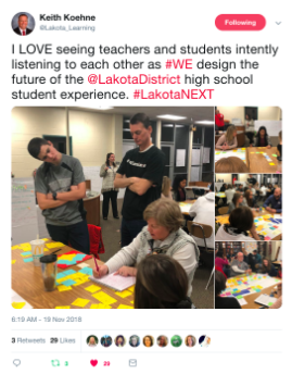 Dec NL Lakota Tweet Image