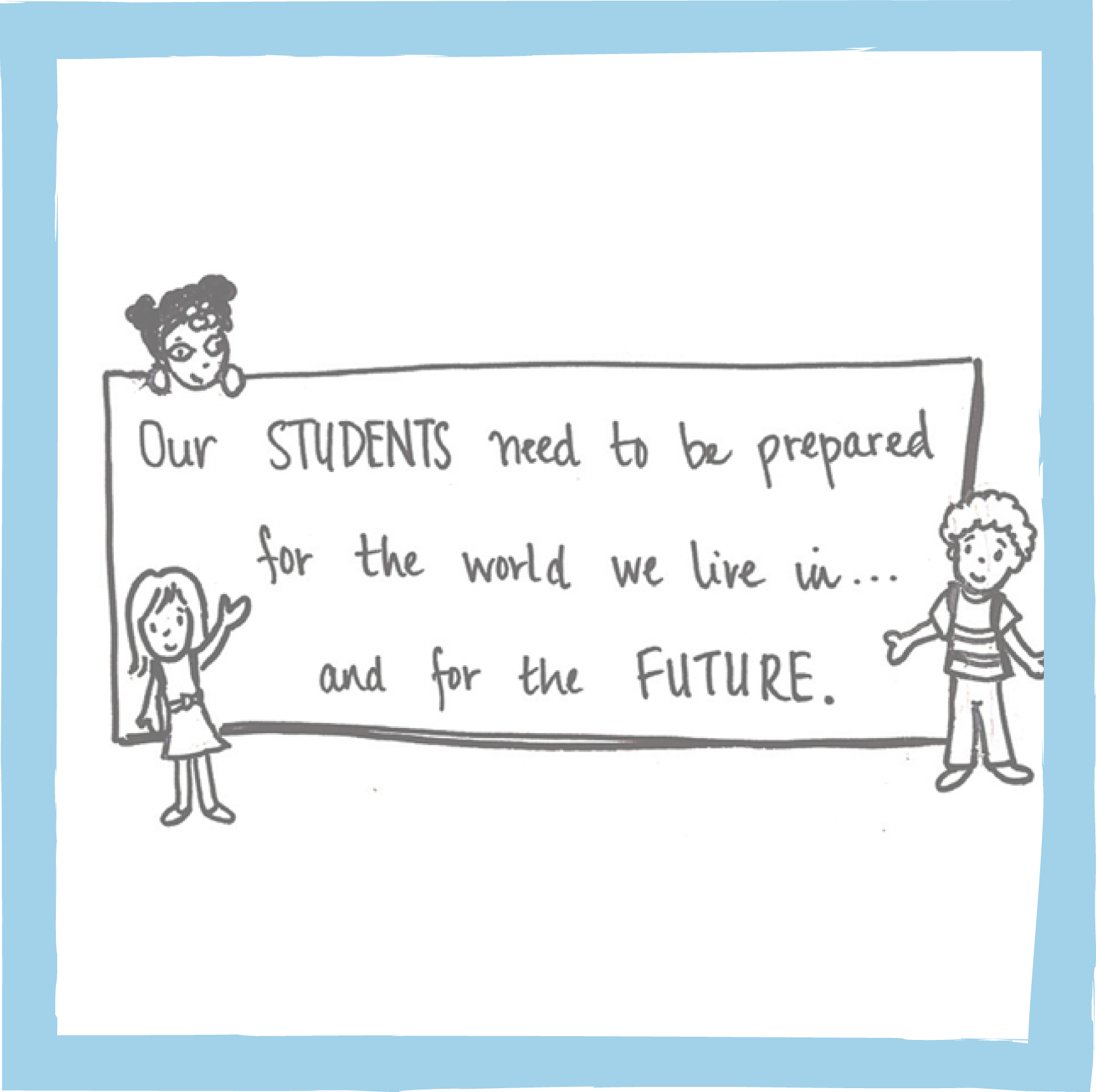 Our students need to be prepared for the world of work