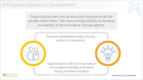 Innovative leadership development