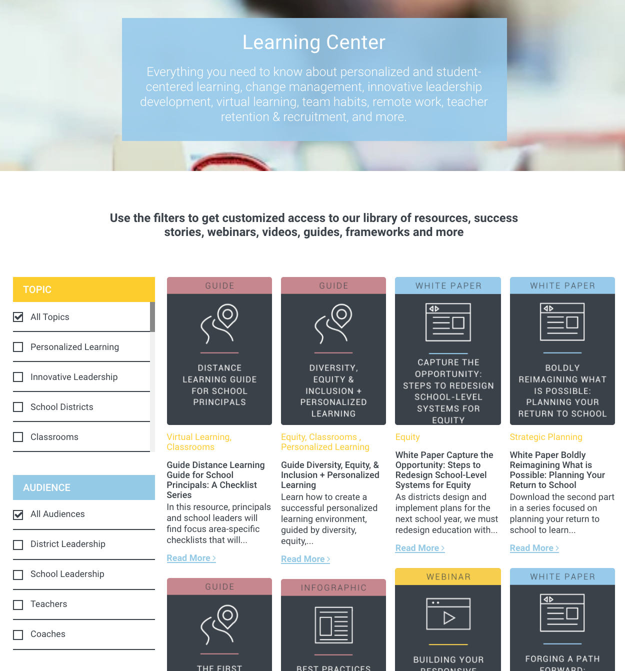 Learning Center Image