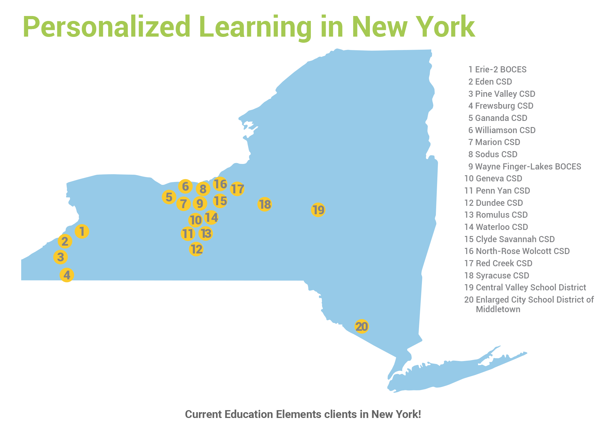 NY Map March Newsletter