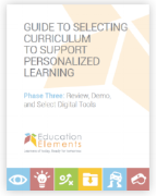 curriculum selection white paper