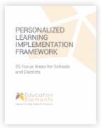 Personalized Learning Implementation Framework 2017