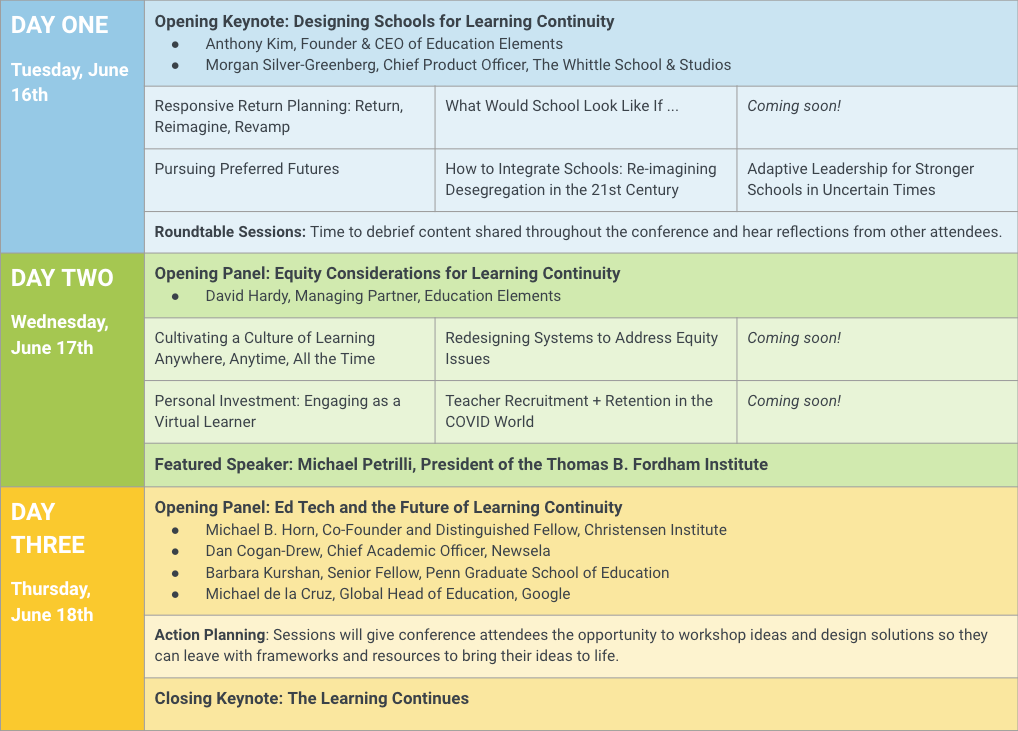 learning-continuity-schedule 6.16.20