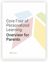 Core four of Personalized Learning for parents
