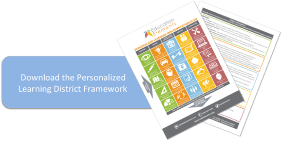 Education Elements Personalized Learning District Framework