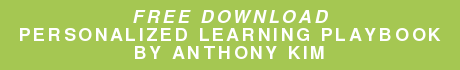 Free Download Personalized Learning Playbook By Anthony Kim