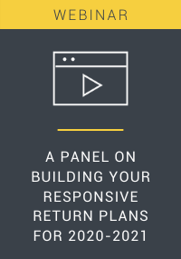A Panel on Building Your Responsive Return Plans for 2020-2021 Resource LP Cover