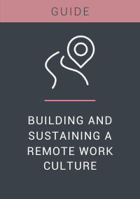 Building and Sustaining a Remote Work Culture Resource LP Cover