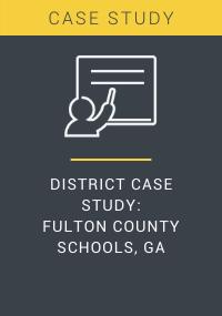 District Case Study Fulton County Schools GA Resource LP Cover