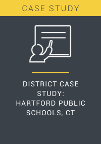 District Case Study Hartford Public Schools CT Resource LP Cover