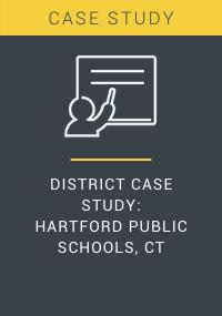 District Case Study Hartford Public Schools CT Resource LP Cover