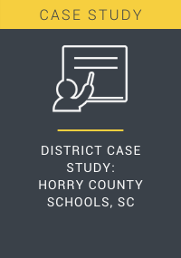 District Case Study Horry County Schools SC Resource LP Cover