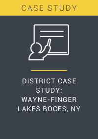 District Case Study Wayne-Finger Lakes BOCES NY Resource LP Cover