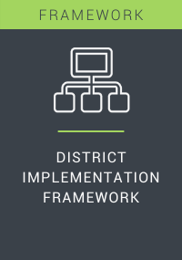 District Implementation Framework Resource LP Cover