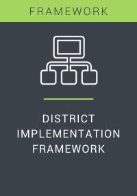 District Implementation Framework Resource LP Cover