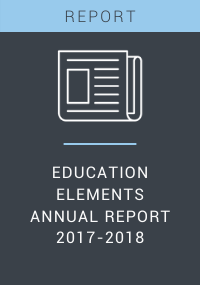 Education Elements Annual Report 2017-2018 Resource LP Cover