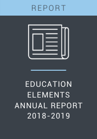 Education Elements Annual Report 2018-2019 Resource LP Cover