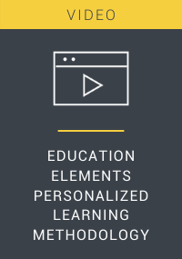 Education Elements Personalized Learning Methodology Video Resource LP Cover