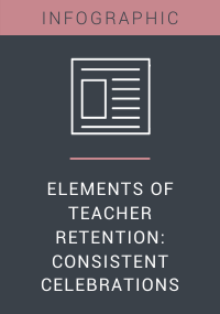 Elements of Teacher Retention Consistent Celebrations Resource LP Cover