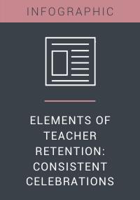 Elements of Teacher Retention Consistent Celebrations Resource LP Cover