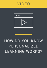 How Do You Know Personalized Learning Works Resource LP Cover