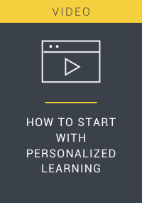 How to Start With Personalized Learning Resource LP Cover
