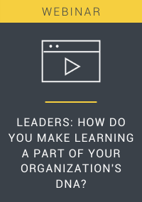 Leaders How Do You Make Learning a Part of Your Organizations DNA Webinar Resource LP Cover