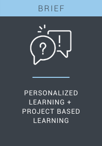 Personalized Learning + Project-Based Learning Resource LP Cover