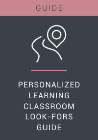 Personalized Learning Classroom Walkthrough Guide Resource LP Cover