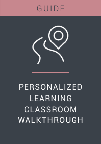 Personalized Learning Classroom Walkthrough Resource LP Cover