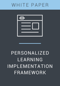 Personalized Learning Implementation Framework Resource LP Cover