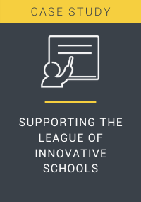 Supporting the League of Innovative Schools Resource LP Cover