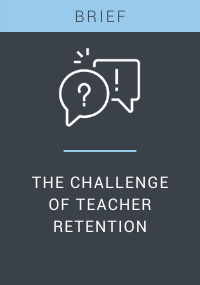 The Challenge of Teacher Retention Resource LP Cover