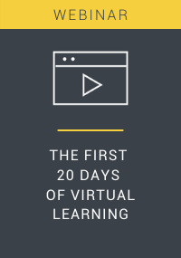 The First 20 Days of Virtual Learning