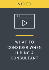 What to Consider When Hiring a Consultant
