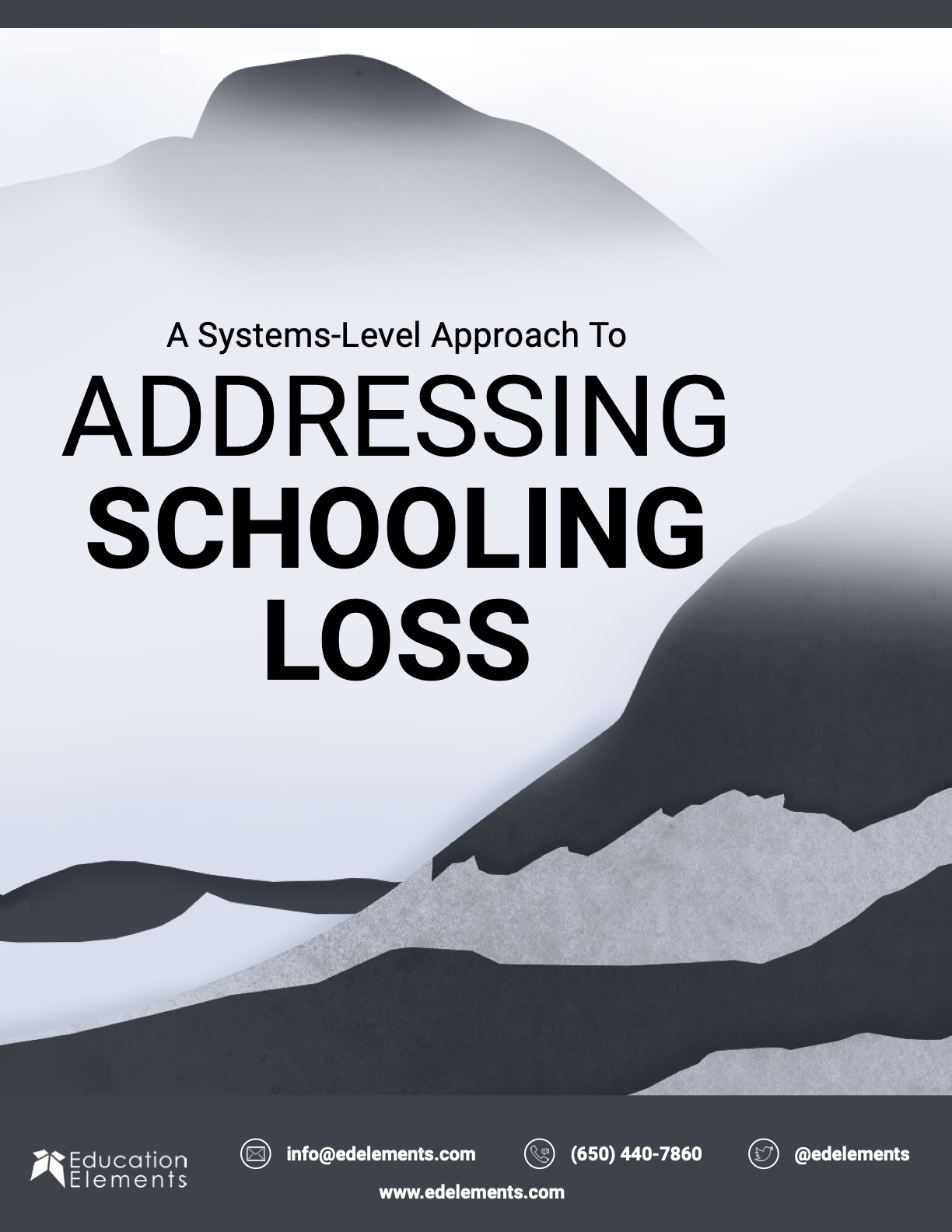 Addressing Schooling and Learning Loss cover