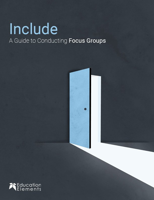 Include - A Guide to Conducting Focus Groups cover
