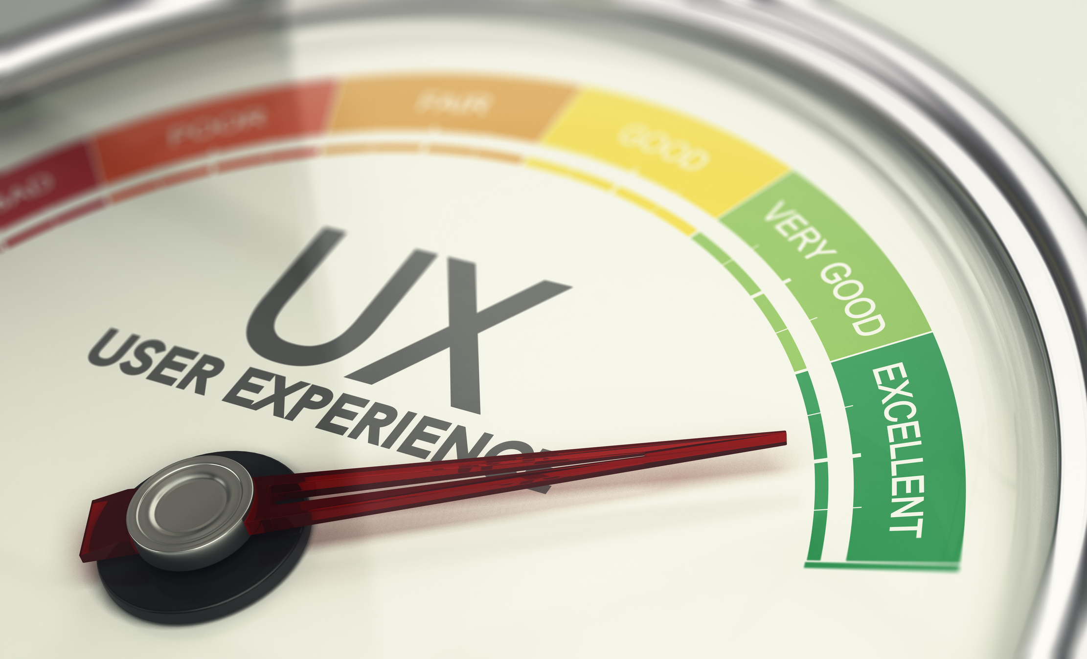 excellent user design experience gauge